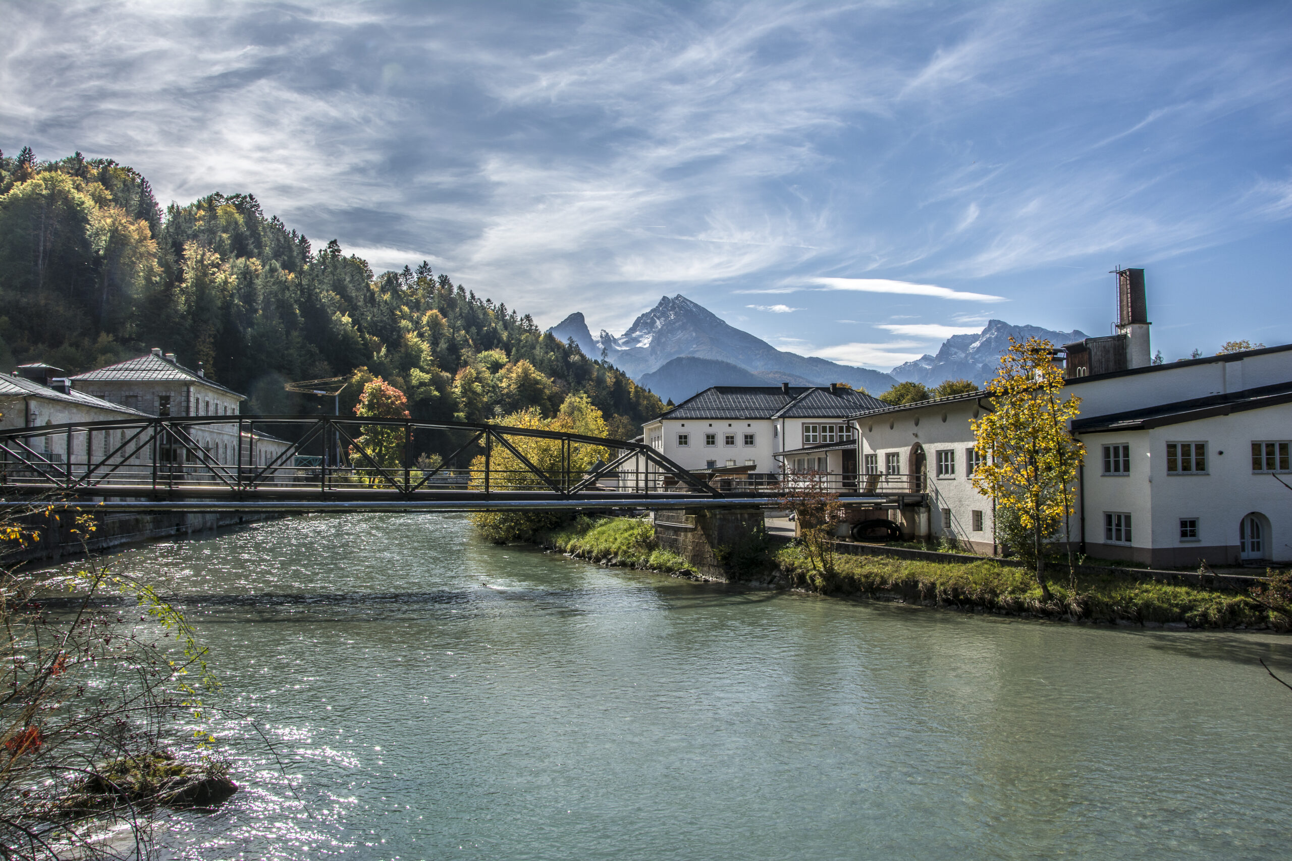 Berchtesgadener Land Tourismus Salzbergwerk Berchtesgaden Herbst 1 scaled