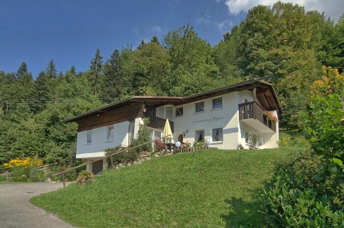 Alpenhotel Fischer, Ferienwohnungen, Haus Inge, außen