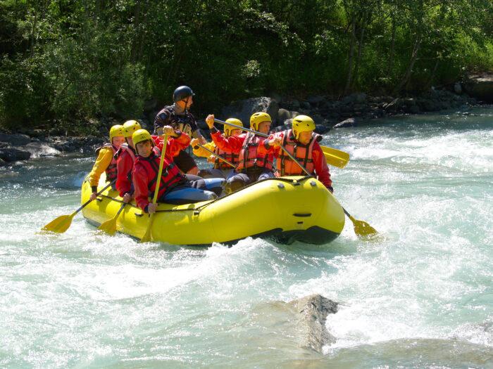 Alpenhotel Fischer, Berchtesgaden, Sommeraktivitaeten, Rafting