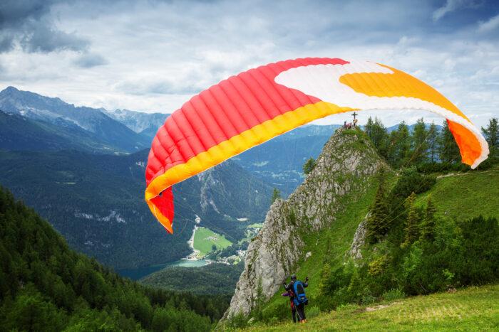 Alpenhotel Fischer, Berchtesgaden, Sommeraktivitaeten, Paragliding