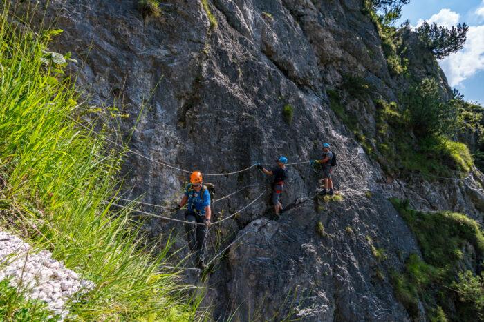 Alpenhotel Fischer, Berchtesgaden, Sommeraktivitaeten, Klettersteig